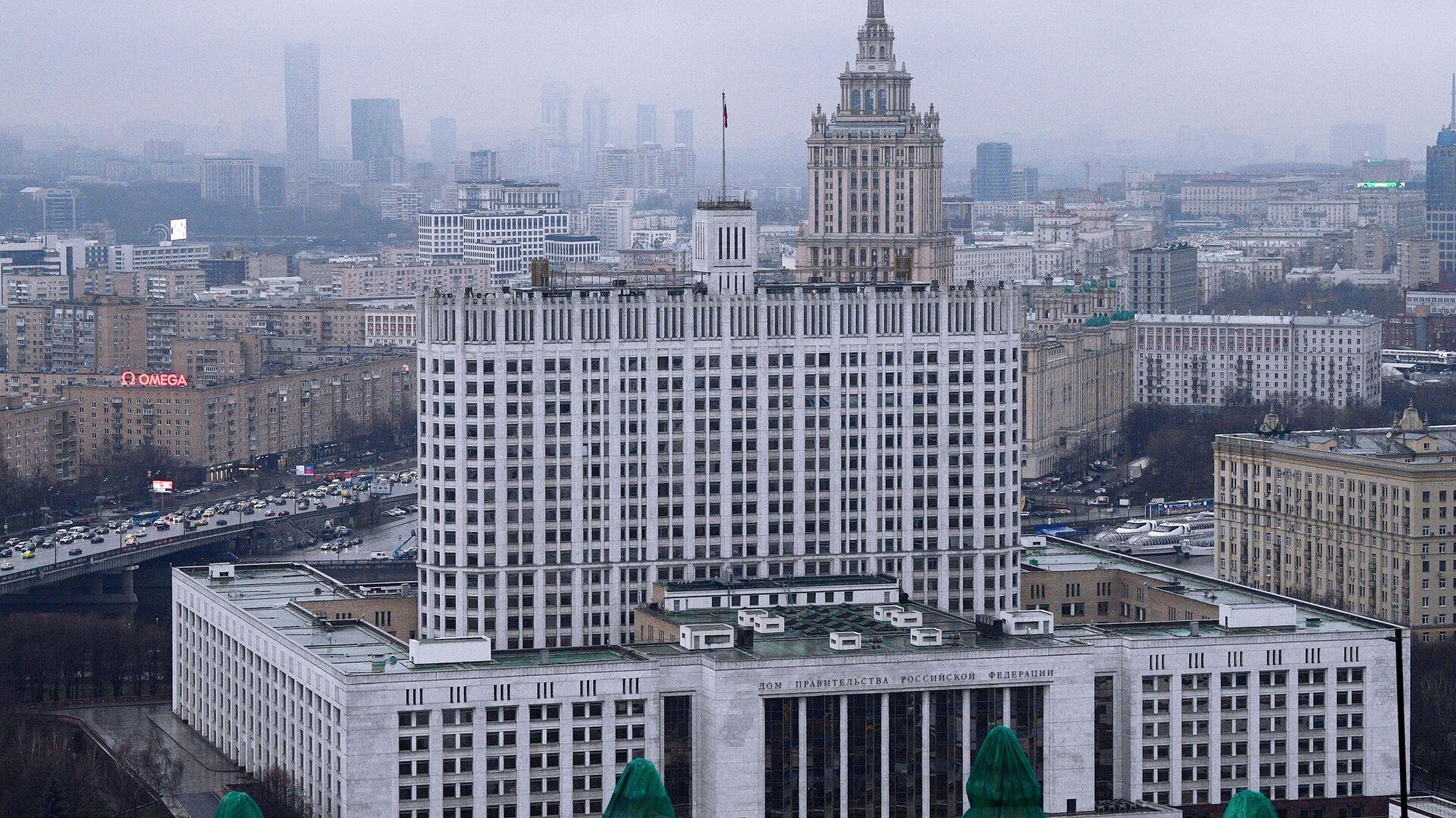 Здание правительства РФ  - РИА Новости, 1920, 12.11.2020