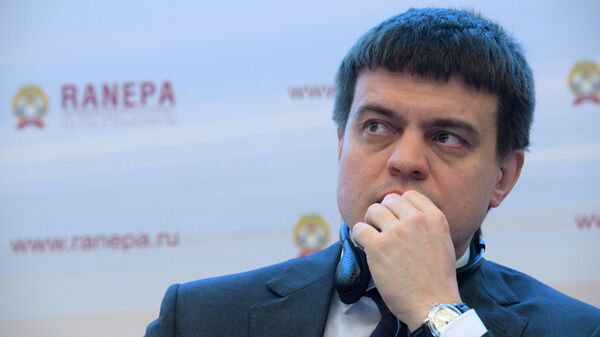 Исполняющий обязанности министра науки и высшего образования РФ Михаил Котюков на XI Гайдаровском форуме. 16 января 2020