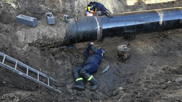 Нефтепровод Дружба в Гомельской области