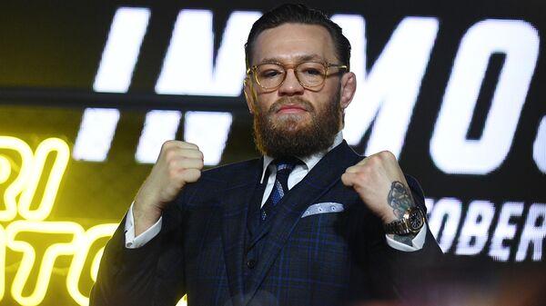 Боец смешанных единоборств, бывший чемпион турнира UFC Конор Макгрегор