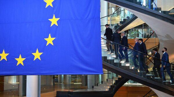 Депутаты на сессии Европейского парламента в Страсбурге
