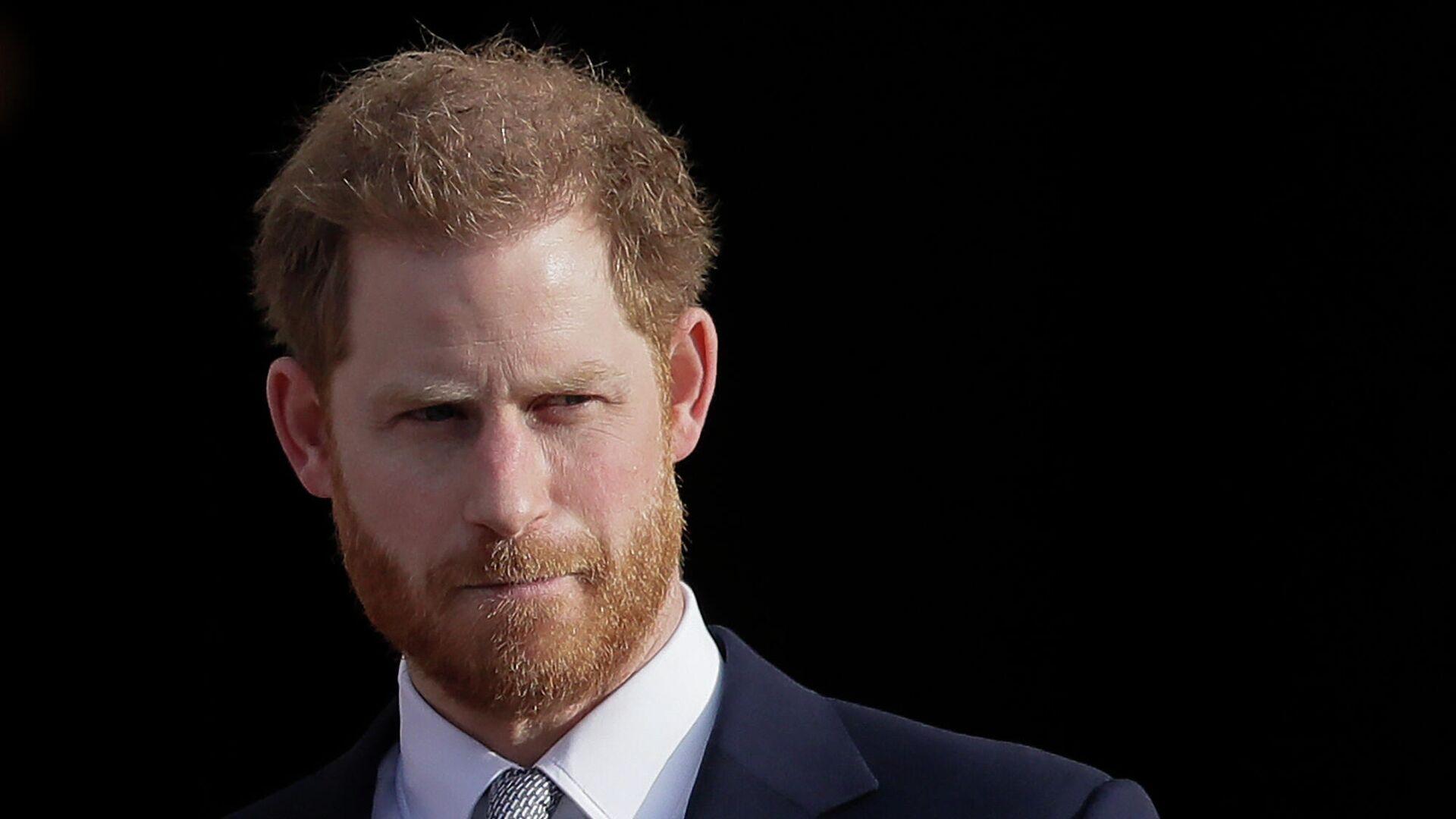 Британский принц Гарри в Букингемском дворце в Лондоне - РИА Новости, 1920, 21.07.2021