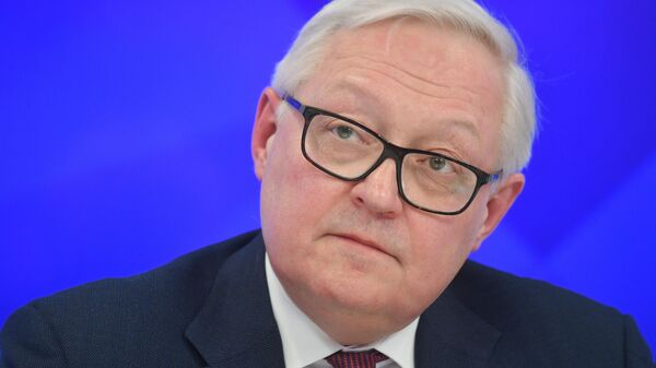 Сергей Рябков на пресс-конференции, посвященной началу председательства России в БРИКС в 2020 году