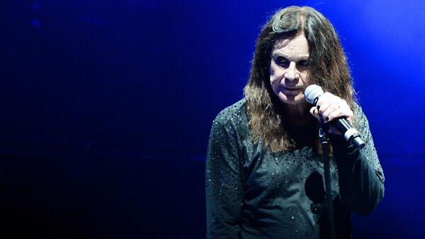 Вокалист британской рок-группы Black Sabbath Оззи Осборн