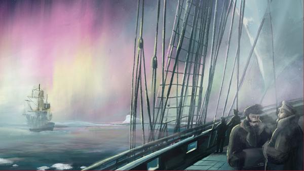 Как русские моряки открыли Антарктиду