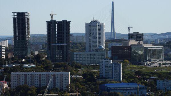 Новостройки в центре Владивостока