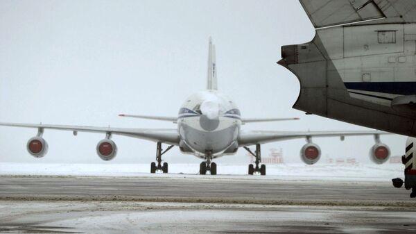 Самолеты, дожидающиеся рассеивания тумана