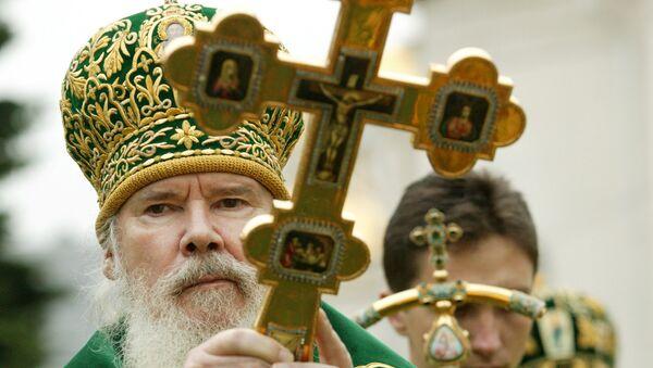 Патриарх Московский и Всея Руси Алексий II, архивное фото