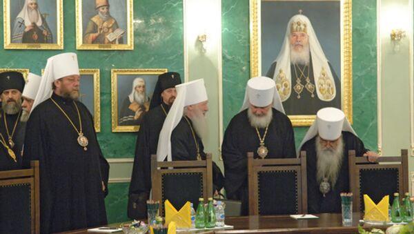 Заседание Священного Синода. Архивное фото