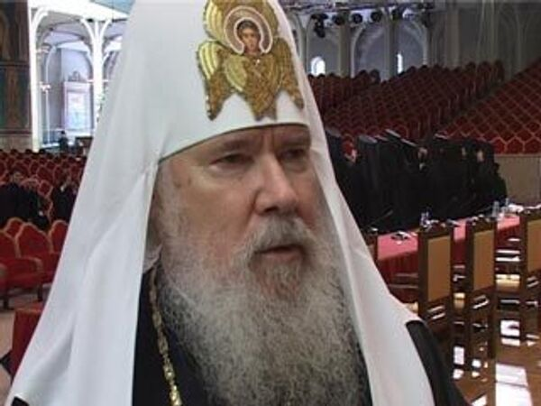 Алексий II: Архиерейский Собор засвидетельствовал единство Церкви