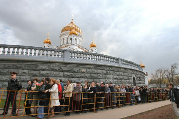 Храм Христа Cпасителя. Архив