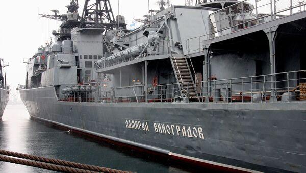 Большой противолодочный корабль Адмирал Виноградов