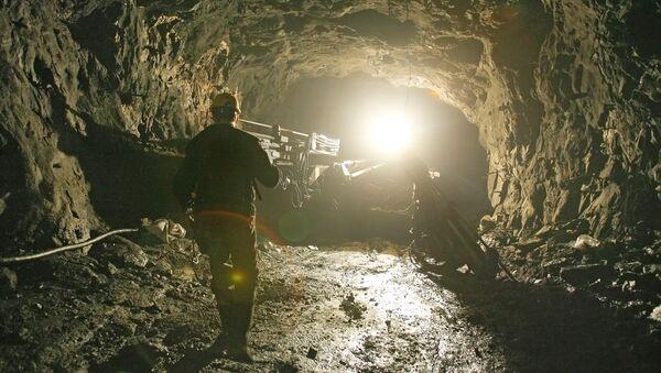 В шахте рудника. Архив