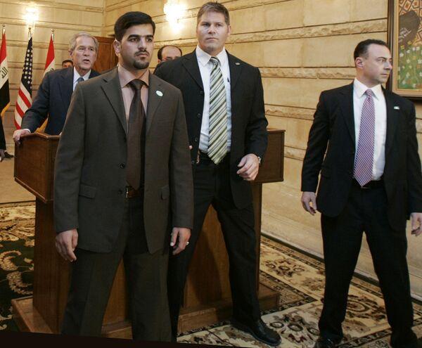 Судебный процесс над ботинкометателем возобновился в Багдаде