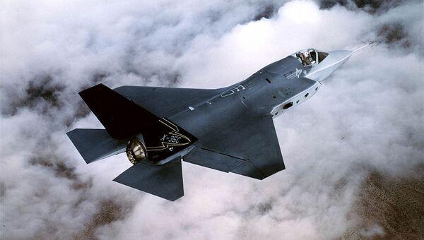 Истребитель F-35. Архивное фото