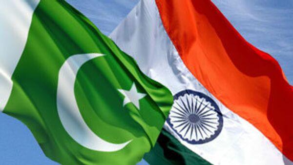Флаги Пакистана и Индии