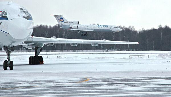 Пассажирский самолет Як-42