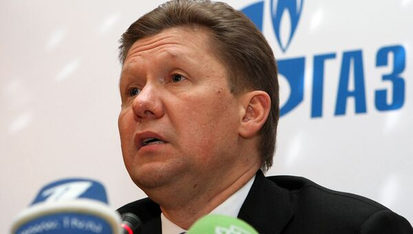 Глава Газпрома Алексей Миллер. Архив