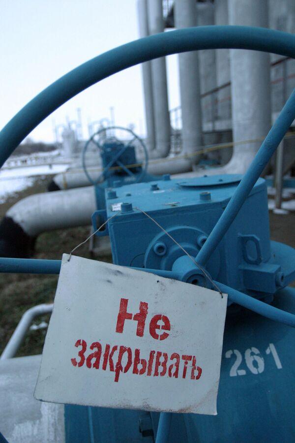 На компрессорной станции ОАО Газпром. Архив