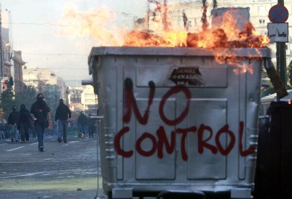 Беспорядки в Афинах в декабре 2008 года