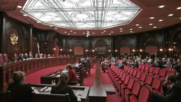 Судьи Конституционного суда выберут нового председателя