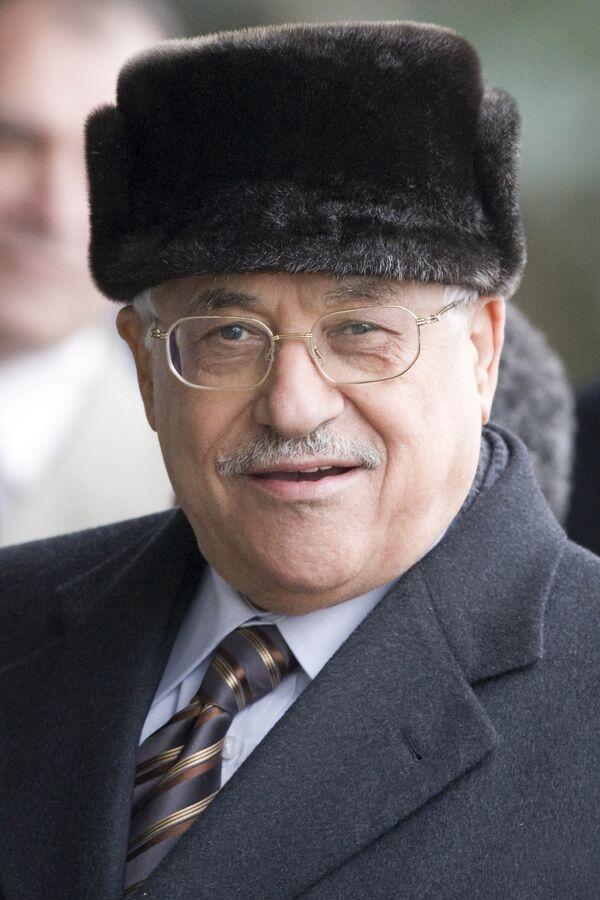 Глава Палестинской национальной администрации Махмуд Аббас прибыл в Москву