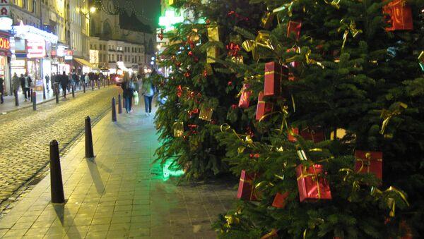 Белое Рождество впервые пришло в Великобританию с 2004 года