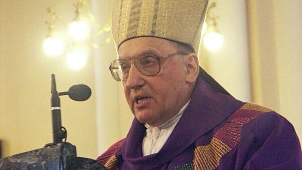 Глава российских католиков архиепископ Тадеуш Кондрусевич