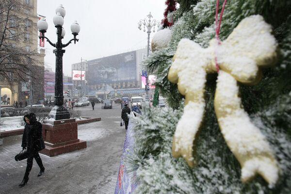 Новый год в Москве. Архив