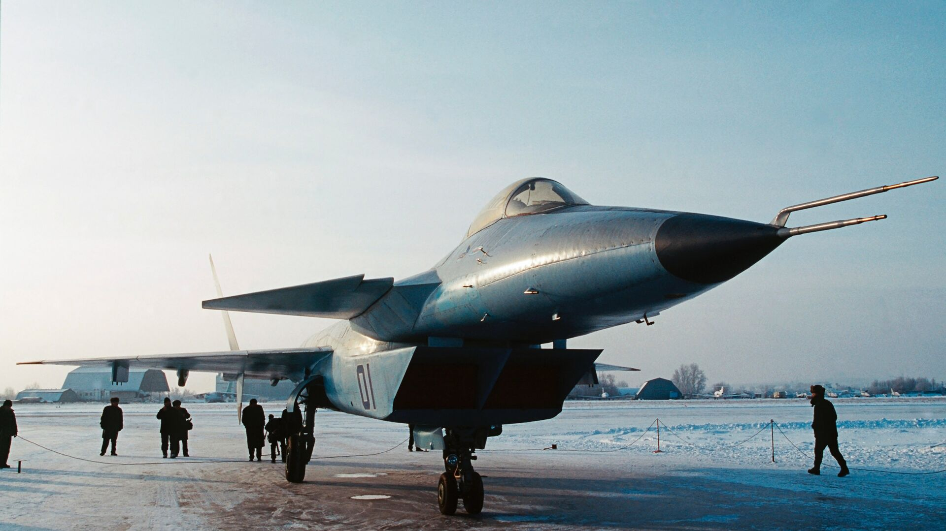 Новый российский истребитель  - РИА Новости, 1920, 26.07.2021