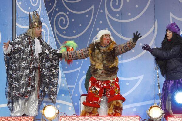 Главный Дед Мороз страны прибыл в Москву