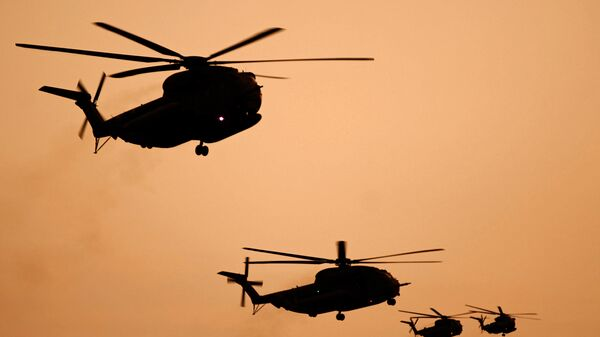 Израильские армейские вертолеты