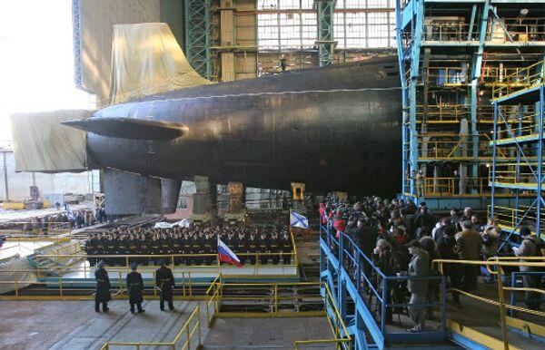 Атомный подводный ракетный крейсер (АПРК) Юрий Долгорукий