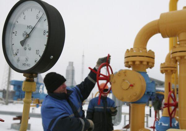 Газокомпрессорная станция в Белоруссии