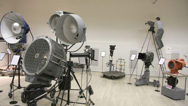 В киностудии Центр национального фильма. Архивное фото