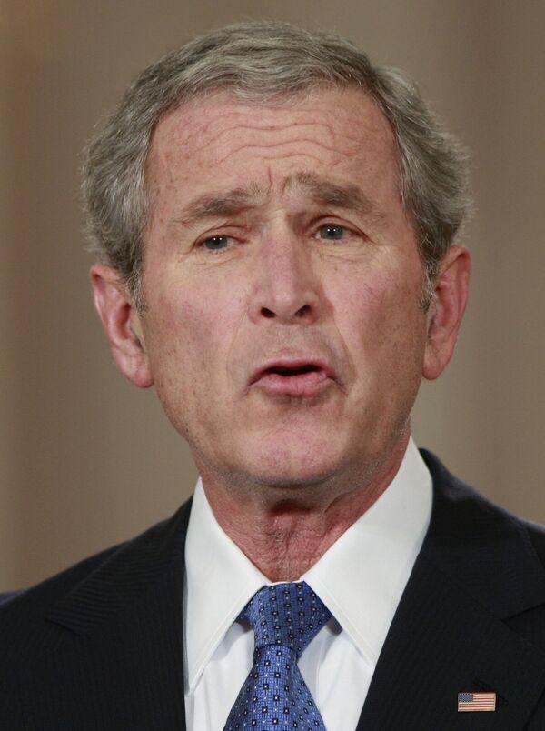 Президент США Джордж Буш выступил с прощальным телеобращением к стране