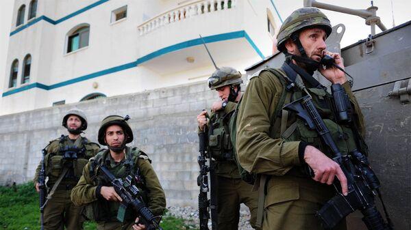 Израильская армия. Архивное фото