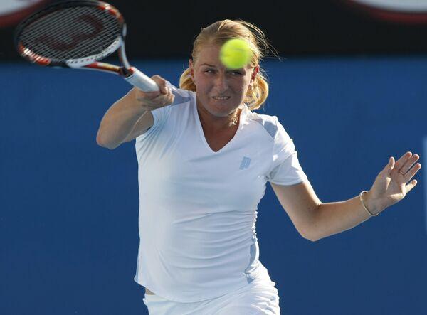 Российская теннисистка Алла Кудрявцева