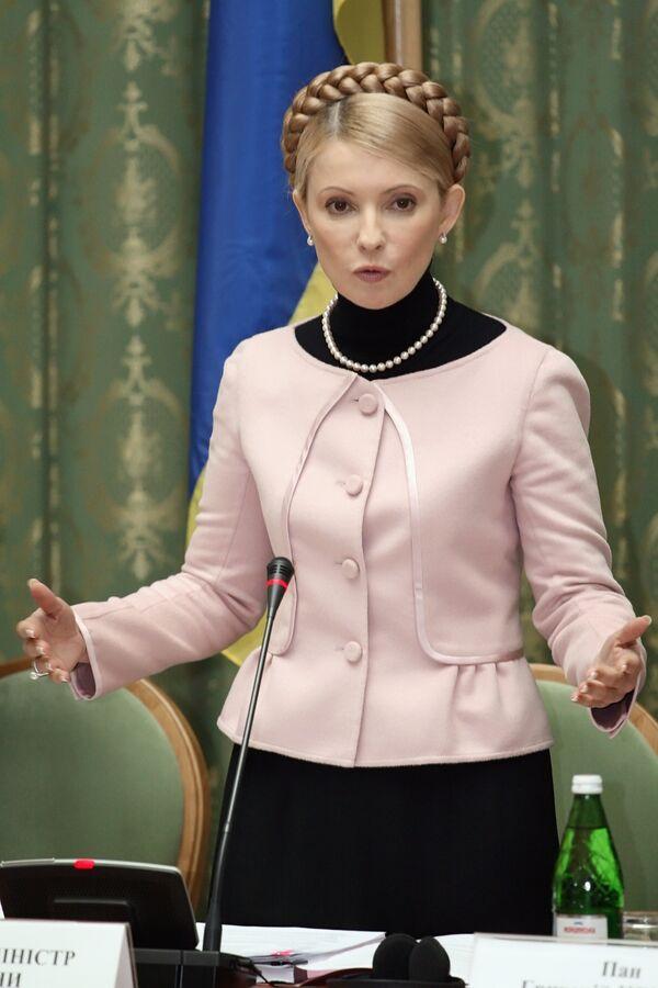 Украина готова поддержать Россию при вступлении в ВТО - Тимошенко