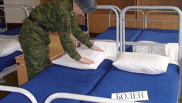 В связи со смертью солдата от пневмонии в Екатеринбурге идет проверка