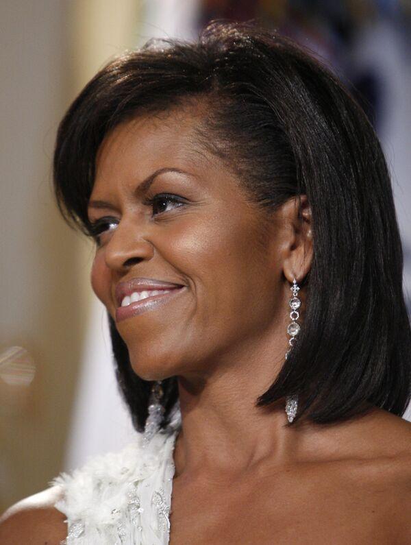 Супруга президента США Барака Обамы Мишель на инуагурационном балу Inaugural Youth Ball