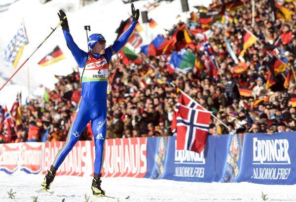 Шведский биатлонист Бьорн Ферри
