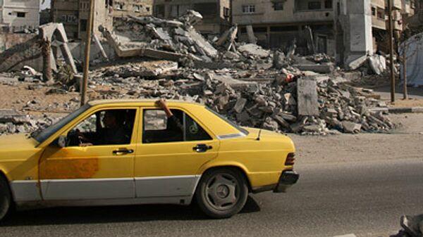 Разрушения в секторе Газа