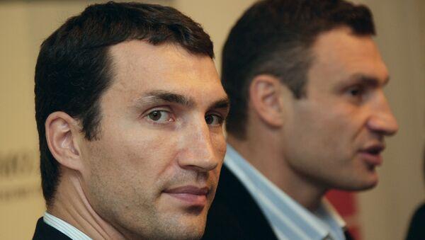 Владимир и Виталий Кличко. Архивное фото