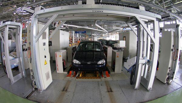 Производство автомобилей LADA Kalina на ОАО АВТОВАЗ