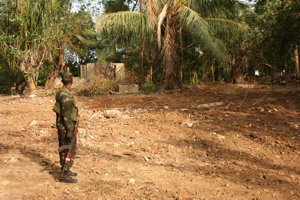 При налете тамилов на Коломбо погибли двое, ранены более 40 человек
