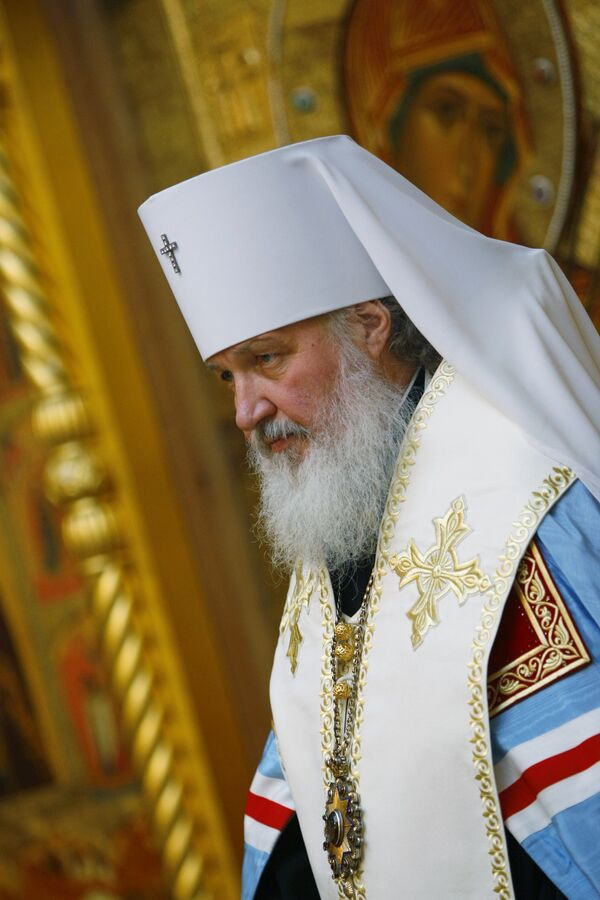 Митрополит Смоленский и Калининградский Кирилл