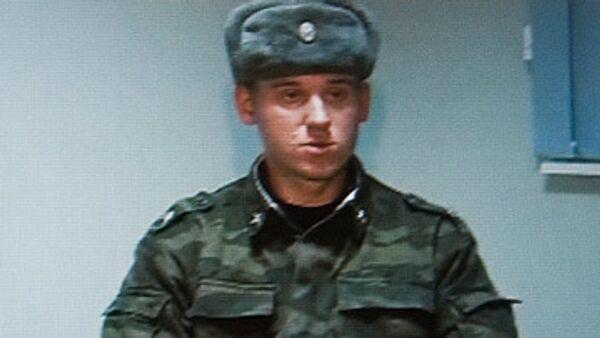 Российский военнослужащий Александр Глухов