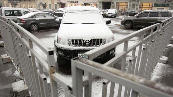 Москва отложила решение вопроса о парковке
