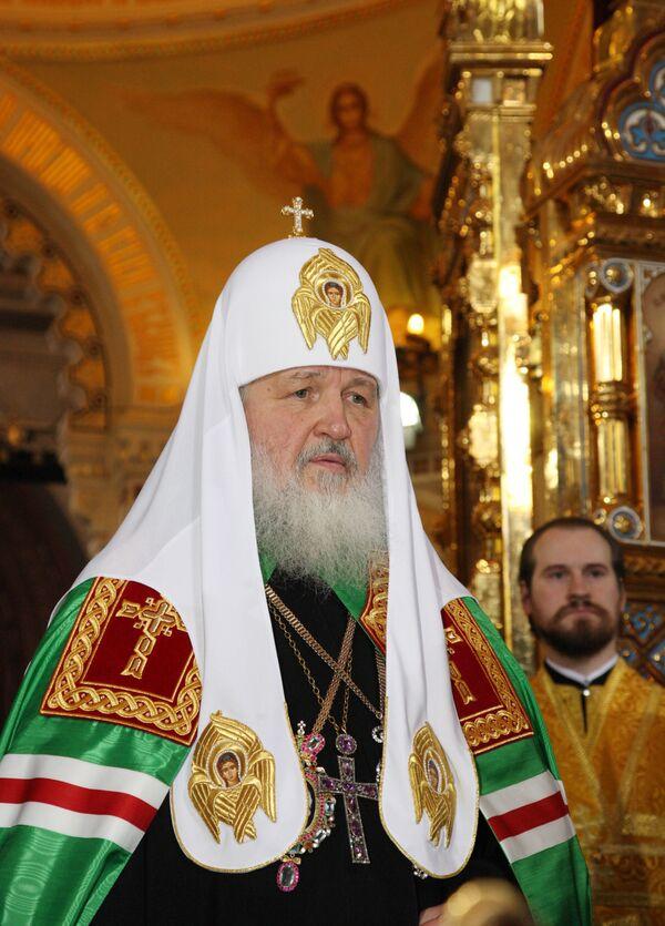 В Санкт-Петербурге пройдет заседание Синода во главе с патриархом Кириллом